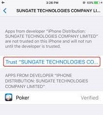 Menu Sungate Technologies